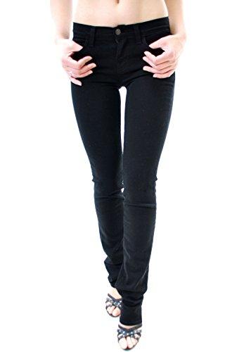 Jeans Cigarette Brand 814c073 Femme Ombre J 24 Noir De qzwn1t