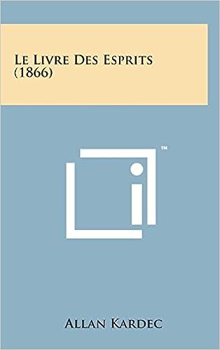 le livre des esprits 1866