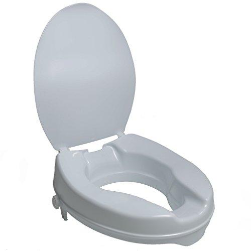 PCP 2-Inch Raised Standard Toilet Seat, Increase