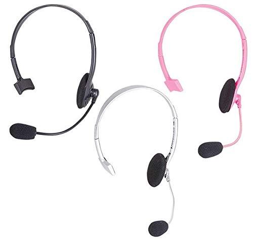 Pop Star Rapper Headset Microphone Prop Only, Grey, 1 per Order