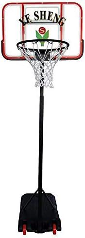 バスケットボールのフープの高さ調節可能な160-208cmポータブルキッズバスケットボールスタンド付きホイール大人飛散防止バックボードバスケットボールゴール