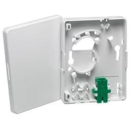 Leviton FTH00-W FTTH ENTRY BOX SC/APC (Pkg of 10)