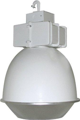 RAB Lighting BLH400AW16DLPSQ Lighting Low Bay 400-watt Mh Psqt 16 Reflector + Drop Lens, White by Rab Lighting - Mh Low Bay