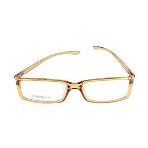Yves Saint Laurent Eyeglasses YSL 2101 8J4 Champagne 54-15-130 Made in Italy