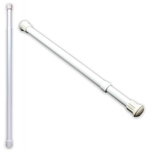 (Set) Telescoping Window And Sliding Door Security Bars Prevent Forced Entry