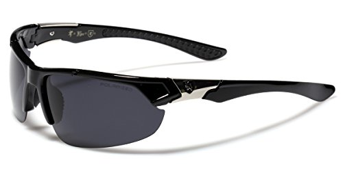 4812c4dbd99 Polarized Premium Men s Half Frame Baseball Fishing Cycling Driving Sports  Sunglasses - Buy Online in Oman.