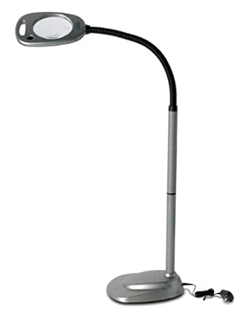 Amazon mighty bright floor led light and magnifier mighty mighty bright floor led light and magnifier aloadofball Image collections