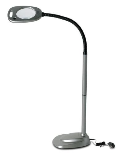 Mighty Bright Floor Led Light and Magnifier by Mighty Bright