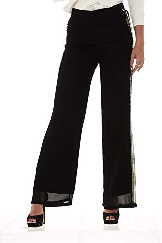 Di London Patrizia Stripes Pepe In Crepe Pantaloni Viscosa A4d6 Donna 8p0163 ww7qXzpf
