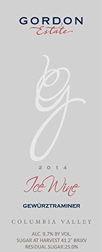 2014 Gordon Estate Ice Wine of Gewurztraminer