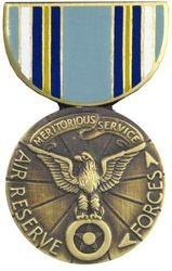 Air Reserve Meritorious Service Medal Lapel Pin or Hat Pin