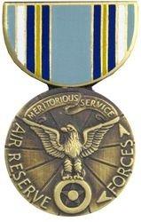 Air Medal Lapel Pin (Air Reserve Meritorious Service Medal Lapel Pin or Hat Pin)
