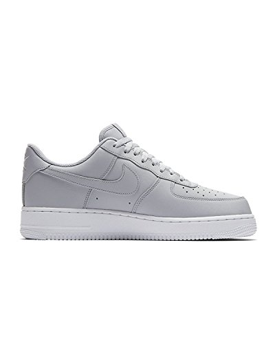 1 Low Mens Shoes - NIKE Mens Air Force 1 Low 07 Basketball Shoes Wolf Grey/White AA4083-010 Size 12