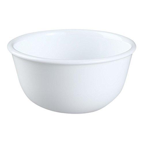 Corelle Livingware Winter Frost White 11-Oz Dessert Bowl (Set of 4) by Corelle Coordinates