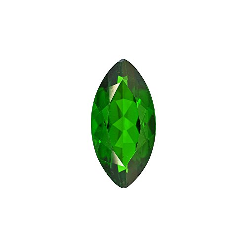 - 10x5 mm AA Marquise Chrome Diopside (1 pc) Loose Gemstone