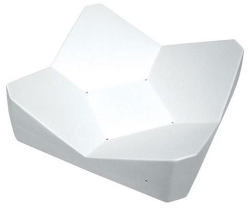 Large Geometric Sloping Dish - Fusible Glass Slumping Mold