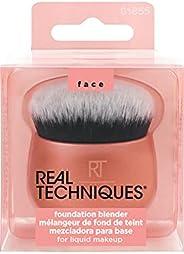 Real Techniques Pincel de maquiagem para base líquida, versátil para base em creme e pó