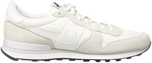 Nike Internationalist, Sandalias con Plataforma para Hombre Multicolor (Summit White/white-off White)