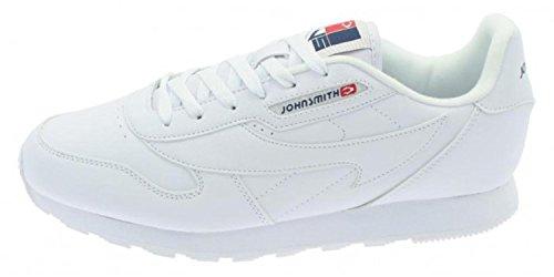 John Smith J.Smith Cresir Zapatillas Hombre Casual Clásicas Blancas (34 EU): Amazon.es: Ropa y accesorios