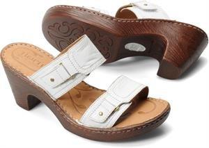 Born womens Bellot White Sandal - 11