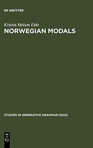 Norwegian Modals (Studies in Generative Grammar)