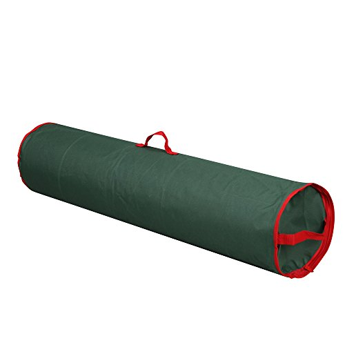 "Primode Gift Wrapping Storage Bag With Handle | Wrapping Paper Tube Bag For Storing Multiple Rolls Of Gift Wrap, 40"" Length (Green)"
