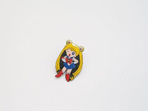 """1"""" Cute Sailor Moon Metal Pin Badge ~"""