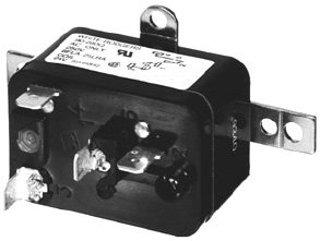 WHITE RODGERS 90-291Q Relay, 120 VAC, SPNO, Fan Relay, 16AMPS @ 250 VACRES, 120 VAC Coil, Type ()