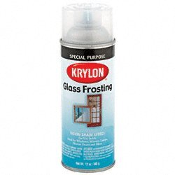 CRL White Spray-On Glass Frosting - 16 oz Spray Can