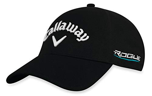 Callaway Golf 2018 Tour Authentic Fitted Hat, Black, Large/ X-Large