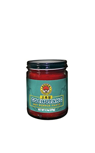 Gochujang Hot Pepper Paste - Perfect Balance of Sweet, Spicy & Savory Flavors - Ready to Use in Dipping, Salads, Stews, Soups and Marinate Meat Dishes (1 Bottle) (No High Fructose Corn Syrup)