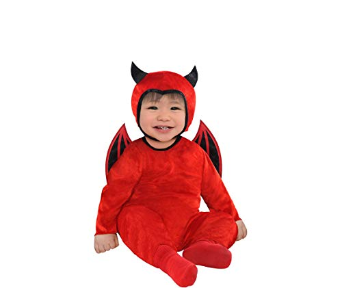 AMSCAN Baby Cute as a Devil Costume for Infants, 6-12 Months, with Included Accessories