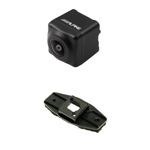 アルパイン(ALPINE) 汎用バックビューカメラ(ブラック) HCE-C1000(ノア/ヴォクシー/エスクァイア用 取付けブラケット セット) B01N6ETRL6