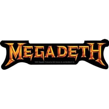 """Megadeth sticker decal 4/"""" x 4/"""""""