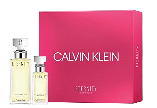 Calvin Klein for Women Holiday 2018 Set, Eternity (Klein Gel Body Shower Calvin)