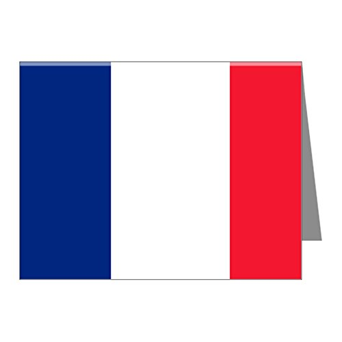 (Note Card Flag of France)
