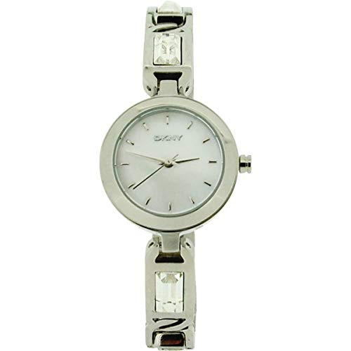 Dkny Mother Of Pearl Dial Watch - DKNY8617 Ladies Mother of Pearl Dial Stone Set All Stainless Steel Dress Watch