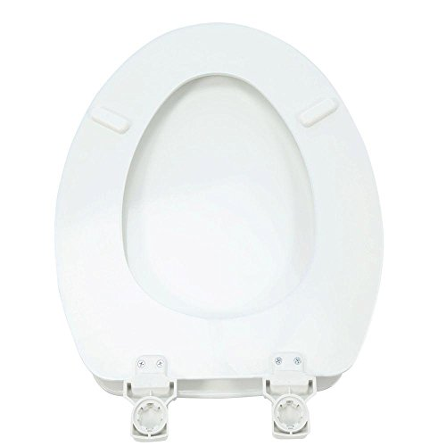 Surprising Lift Off Enameled Wood Elongated Closed Front Toilet Seat Cjindustries Chair Design For Home Cjindustriesco