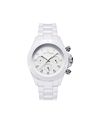 Toy Watch MO07WH Monochrome Whtie Chronograph Ladies Watch
