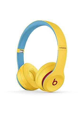 Beats Solo3 Wireless On-Ear Headphones - Beats Club Collection - Club Yellow