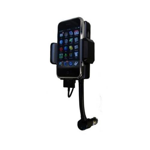 Premiertek GP-FM3G All-In-One FM Transmitter Car Kit for Ipod/Touch Iphone 2G/3G/3GS--(Apple iPhone/iPod not included ) by Premiertek