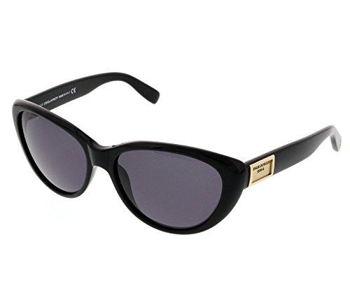 Dsquared2 for woman dq0145 - 01A, Designer Sunglasses Caliber 58