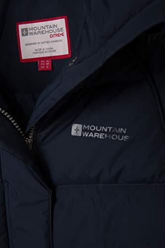 Con Invernale Cappotto Donna Mountain Giù Test Pelliccia Navy Impermeabile In Warehouse Termici 50 Cappuccio Zip Ii Tasche Felpa Piumino Blu Isla Due Sx66Ztq0w