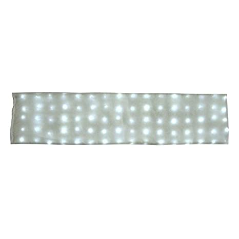 "Deluxe Large 80 LED Lighted Snow Blanket 60"" X 15"" with 8 Dazzling Lighting Effects Holiday Living"