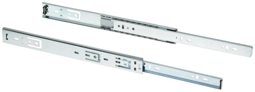 Shop Fox D3027 20-Inch 3/4-Ext Drawer Slide 80-Pound Capacity Side Mount, Pair (Slides Drawer 3/4 Extension)