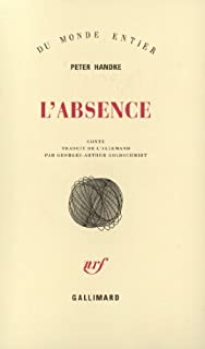 L'absence : conte