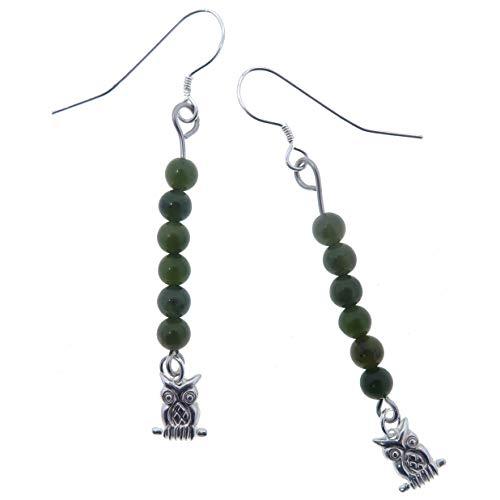 SatinCrystals Jade Green Earrings 2.4