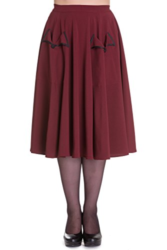 Hell-Bunny-Ellie-May-Rockabilly-1950s-Skirt