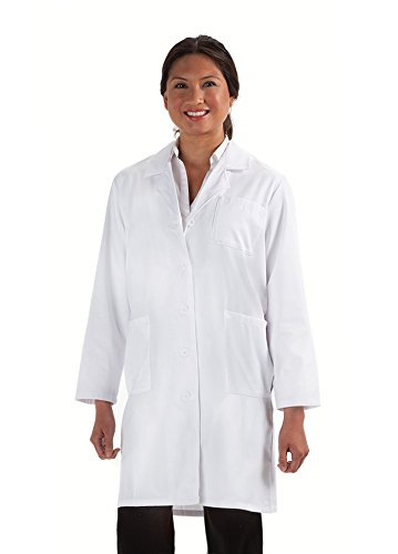 Womens Prestige Cotton Jacket (Prestige Medical Women's Lab Coat, White)