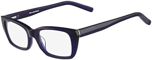 Blue Blue Karl Lagerfeld Womens Brillengestelle Kl8490775018140 Optical Frames 50.0